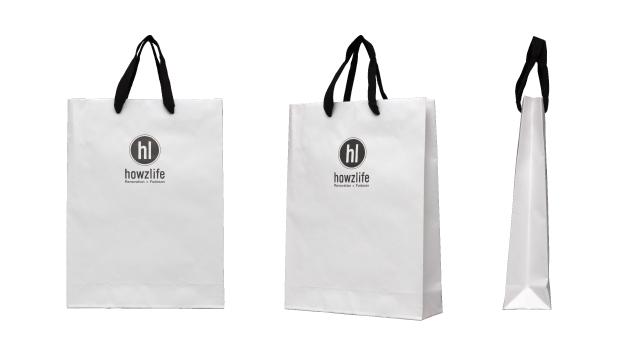 不動産会社様のオリジナル紙袋の制作事例