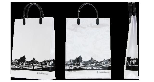 高等学校様のオリジナル紙袋の制作事例