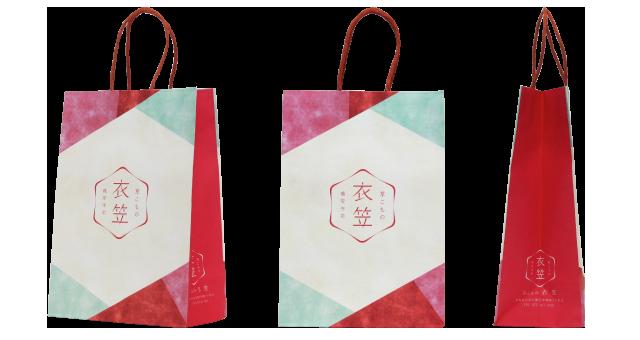 小物販売店様のオリジナル紙袋の制作事例