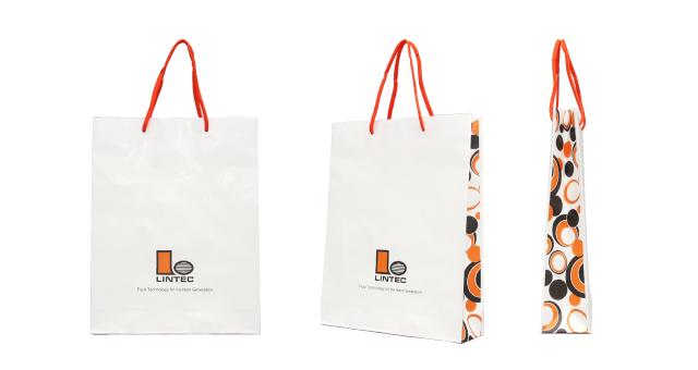 素材メーカー様のオリジナル紙袋の制作事例
