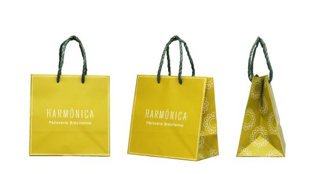 婦人服店様のオリジナル紙袋の制作事例