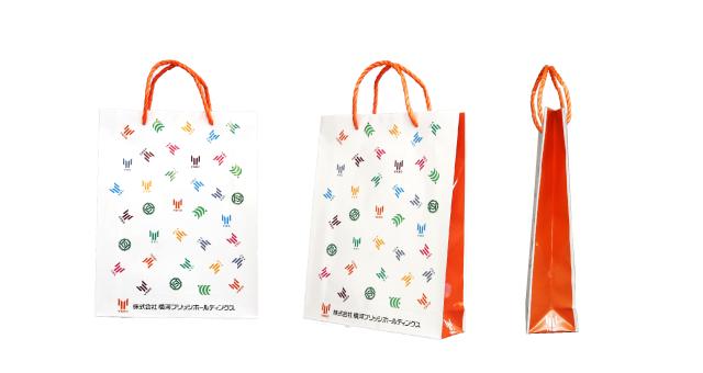 グループ企業様のオリジナル紙袋の制作事例