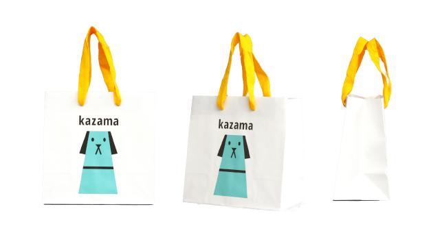 愛犬グッズ製造販売会社様のオリジナル紙袋の制作事例