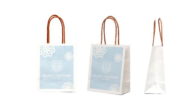 革製品店様のオリジナル紙袋の制作事例