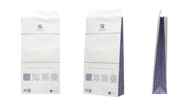 生地専門店様のオリジナル宅配紙袋の制作事例