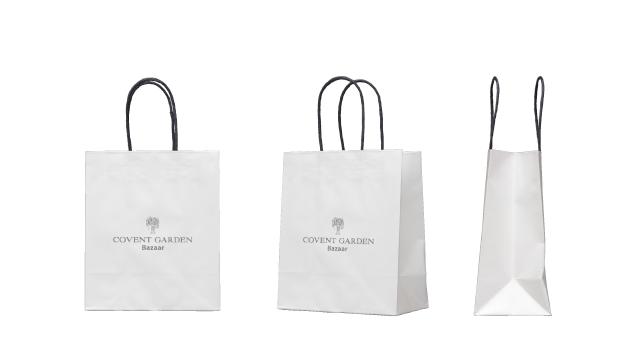 雑貨店様のオリジナル紙袋の制作事例