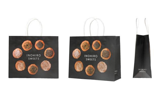 菓子店様のリアルなオリジナル紙袋の制作事例