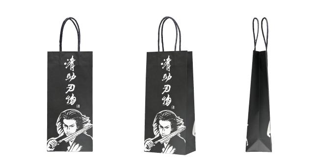 包丁専門店様のオリジナル紙袋の制作事例