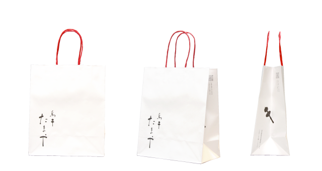 居酒屋店様のオリジナル紙袋の制作事例