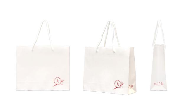 伝統工芸品店様の外連味のないオリジナル紙袋の制作事例