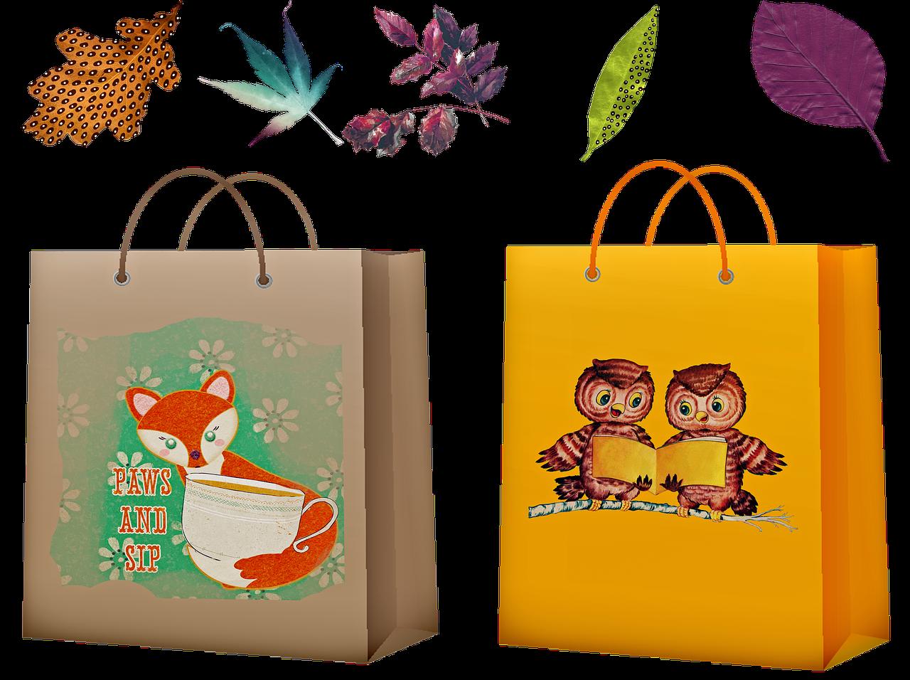 オリジナル紙袋が有効な業種やイベントは?ハンドメイド市場も人気!