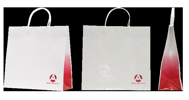 業務用調味料のメーカー様のオリジナル紙袋の制作事例