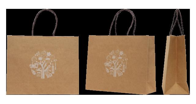 非営利団体様のオリジナル紙袋の制作事例