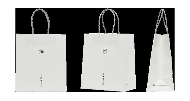 お香専門店様のオリジナル紙袋の制作事例