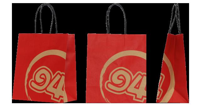 焼き鳥店移動販売店様のオリジナル紙袋の制作事例