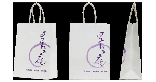 【香典返し】葬儀社様のオリジナル紙袋の制作事例