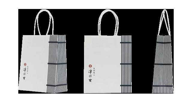 佃煮製造販売会社様のオリジナル紙袋の制作事例