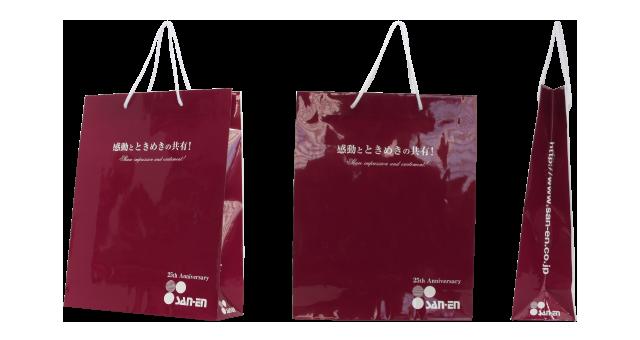 【エスブリコート】自動車部品メーカー様のオリジナル紙袋の制作事例