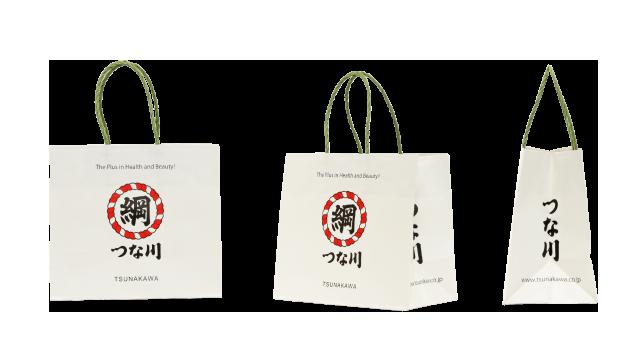 食品問屋様の渋かわいいオリジナル紙袋の制作事例
