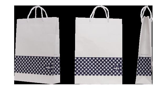 米菓子メーカー様のオリジナル紙袋の制作事例