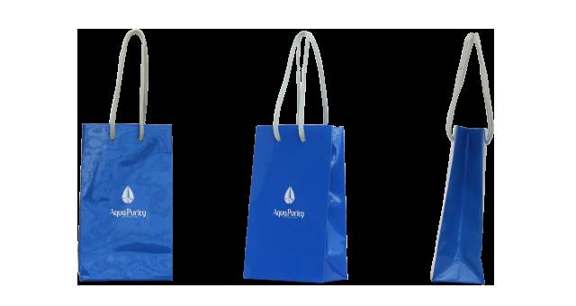 基礎化粧品ブランド様のうるつやなオリジナル紙袋の制作事例