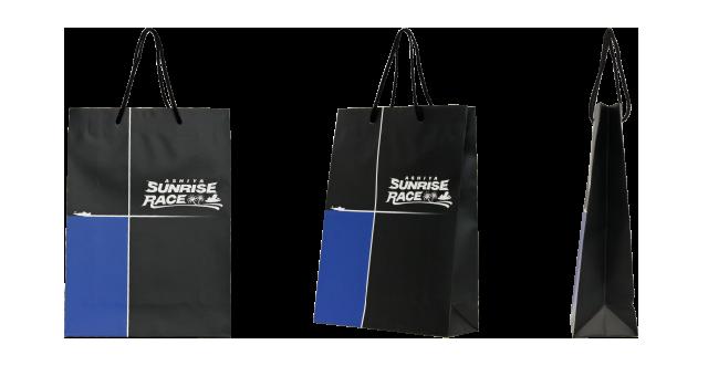 競艇場様のオリジナル紙袋の制作事例