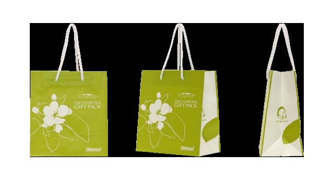 観光協会様のリンゴ専用のオリジナル紙袋の制作事例