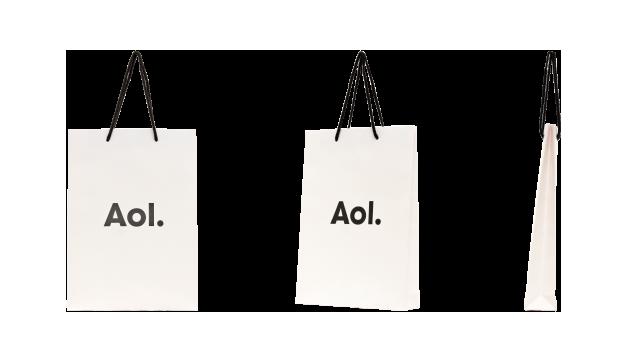 リュウオーコート紙を使用!IT企業様のオリジナル紙袋の制作事例