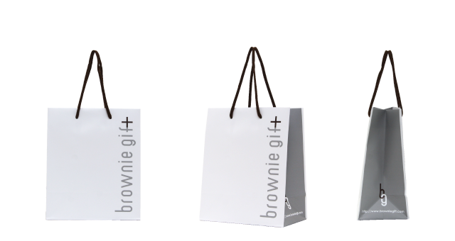 ギフト系のセレクトショップ様のオリジナル紙袋の制作事例