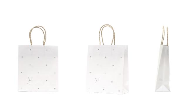 単価30円台!和菓子店様の和風オリジナル紙袋の制作事例