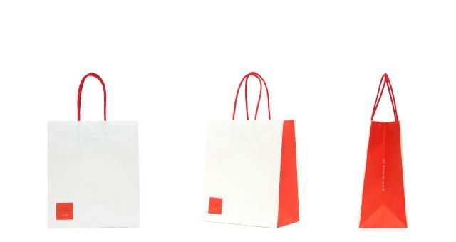 赤坂の高級レストラン様のオリジナル紙袋の制作事例
